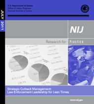 NIJ Report on Budget Cutting Strategies