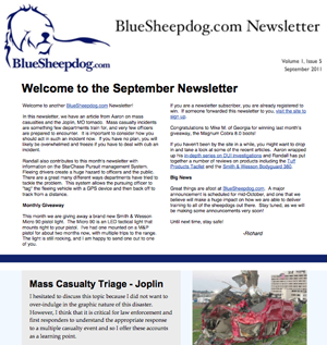 Police Training Newsletter