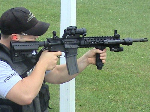 Police Training with the Patrol Rifle