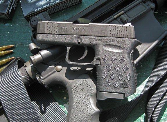 Diamondback DB9 backup gun