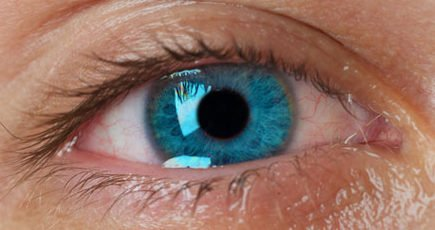 Watery eyes are watery - see the water to call this condition. Otherwise it may be glassy eyes.