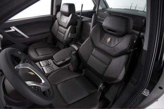 Carbon motors interior