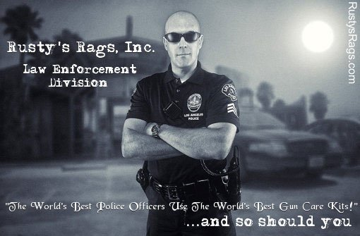 Rustys Rags - Gun Cleaning for Cops
