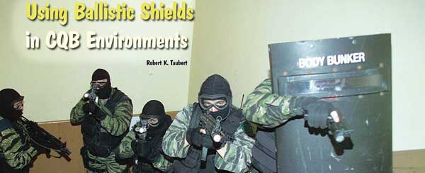 ballistic shield cqb train