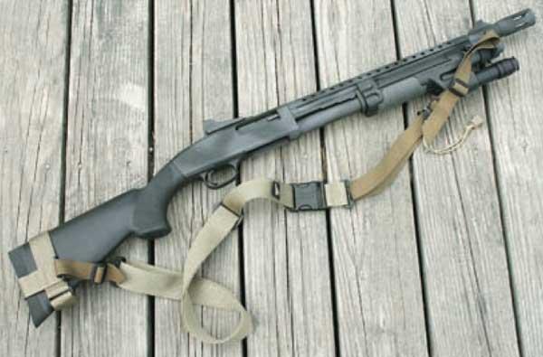 police shotgun photo & Carlson\u0027 Tactical Breacher Muzzle Brake