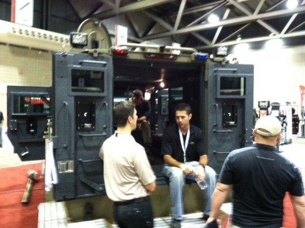 Four door Lenco BearCat
