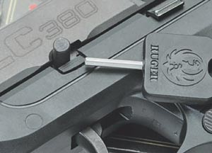 Ruger LC380 field strip