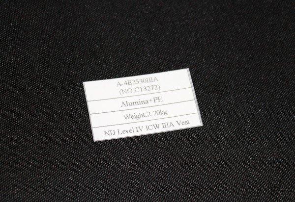 BulletSafe Label