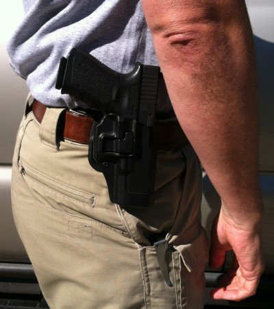 Off-duty carry requires a tremendous amount of responsibility, and is usually best in a concealed manner.