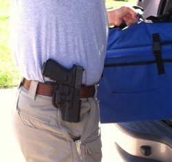 Open Carry requires constant attention to the exposed firearm.