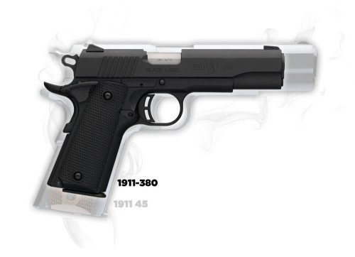 The new Browning Black Label 1911-380.
