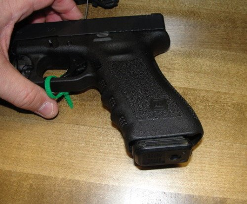 The PMAG 17 GL9 fits a Glock 17 much like standard Glock magazines.