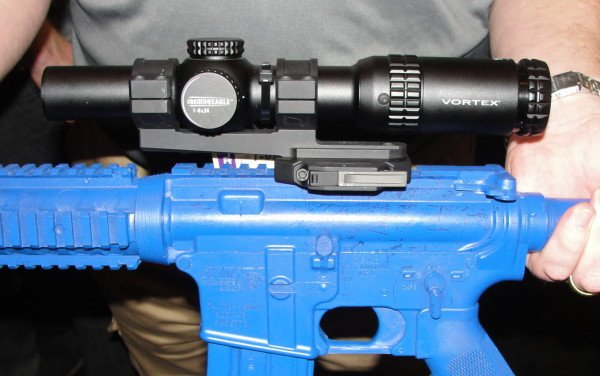 The new Vortex Strike Eagle 1-6x24mm AR-15 scope.