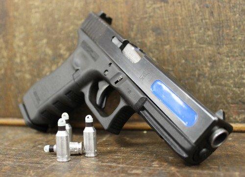A UTM converted Glock pistol.