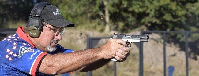 Professional shooter Rob Leatham.