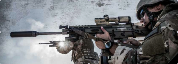 The Trijicon VCOG in military applications.
