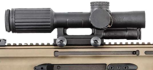 The VCOG hand-screw mount option