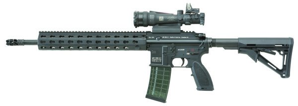 The HK MR556A1 Competition Rifle