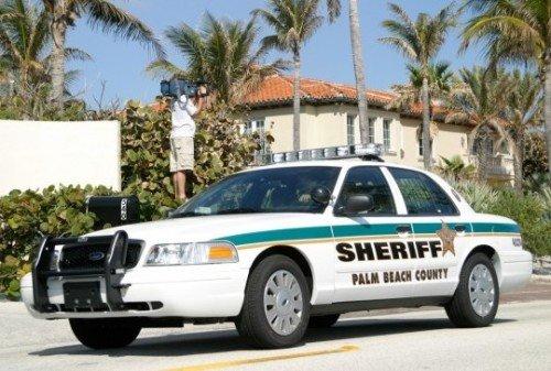 A Palm Beach County, Florida Sheriff's cruiser. (Photo by PBSO)
