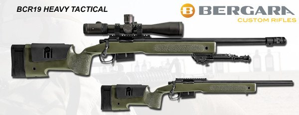 The BCR-19 Heavy Tactical provides shooters a more traditional stock option.