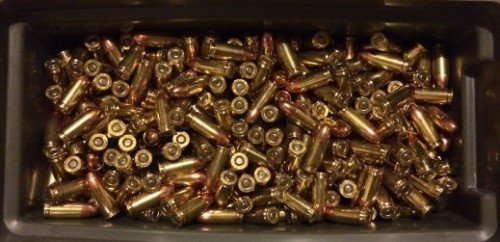 An ammo can of 9mm FMJ.