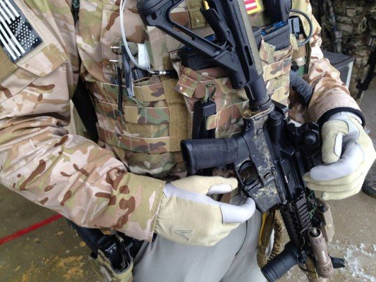 The Trigger Glove can provide short to moderate term protection from elements, while still allowing the shooter a familiar grip and trigger pull.