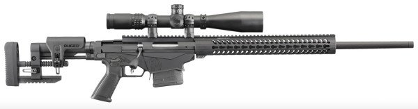 The Ruger Precision Rifle packs a big punch with a reasonable price.