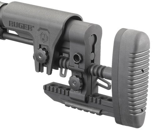 The Ruger Precision MSR Stock is an outstanding feature for proper shooting platform.