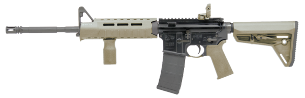 The FDE version of the LE6920MPS. I imagine it comes with an FDE P-mag, but the Colt picture shows black.