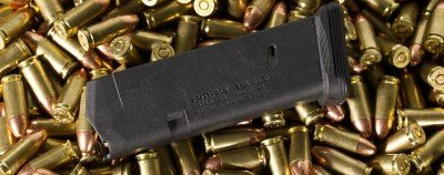 An example of the Magpul Glock 17 magazine.