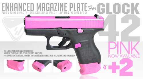 The S.I. (E.M.P.) in pink (photo by Strike Industries).