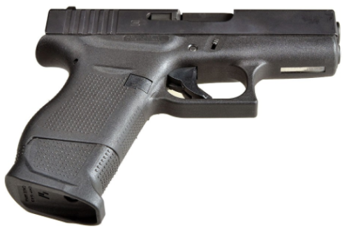 The Glock 43 S.I. (E.M.P.) in black (photo by Strike Industries).