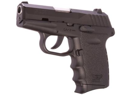The SCCY CPX-2 9mm pistol without manual safety lever (photo by SCCY).