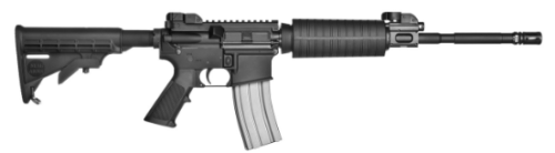 A Stag Model 8 (piston) AR-15 like the one I own.