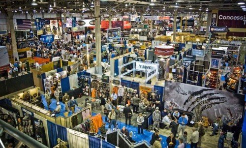 This is just a small portion of the floor space SHOT Show takes up each year.