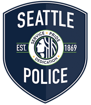 Seattle Police recently changed uniforms and patches. This is their new patch (photo by Seattle PD).