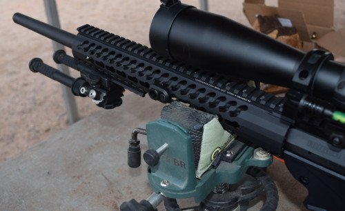 The rifle rest provided a great support to assist shooters with accurate shooting.