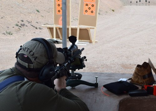 Shooting the Ruger Precision Rifle was very satisfying.