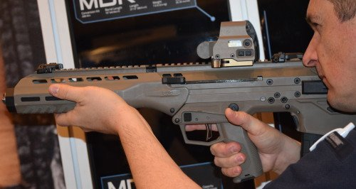 The MDR controls are ambidextrous and easily found and manipulated.