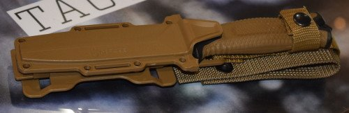 The Gerber Strong Arm comes in Black or FDE.