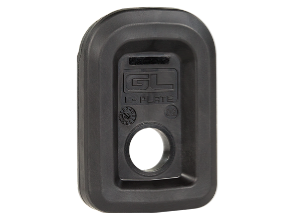 The enhanced and beefed up Magpul GL-L plate for their GL9 magazines.