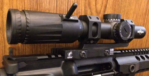 The EOTech Vudu 1-6x24 scope offers a greater range of accurate shooting.