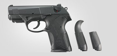 The original PX4 Storm Compact grip was too slick for many consumers.