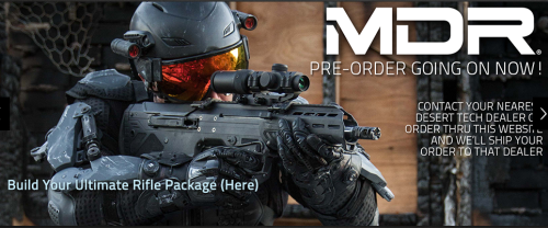With HALO/Modern Warfare like advertisements the Desert Tech MDR could be extremely popular.