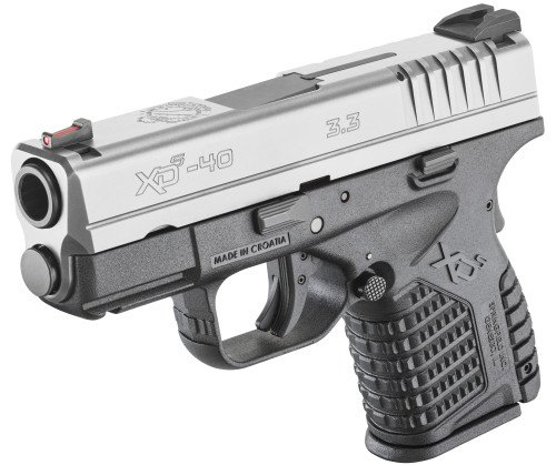 The 2-tone Springfield XDs adds an attractive option.