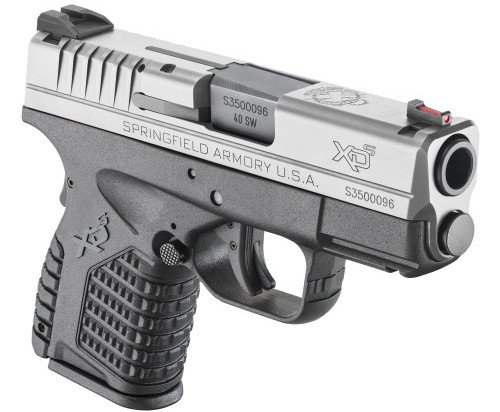 Springfield offers the XDs with an all black finish (as fired), or with the 2-tone stainless steel slide.