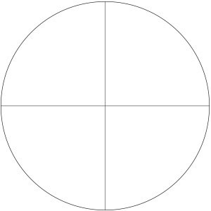 Though more challenging, the SCR-1 (Simple Cross Hair Reticle) could be used by hunters or target shooters.