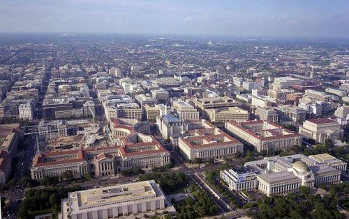 The sprawl of Washington D.C. (photo by loc.gov).
