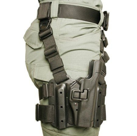 The Blackhawk Serpa 2 Tactical Holster (photo by Blackhawk).