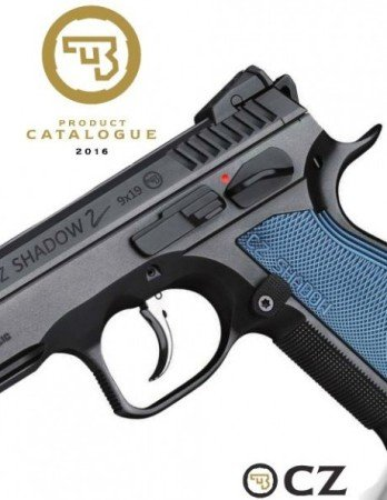 Notice the more ergonomic grip, and slimmer safety lever and magazine release.